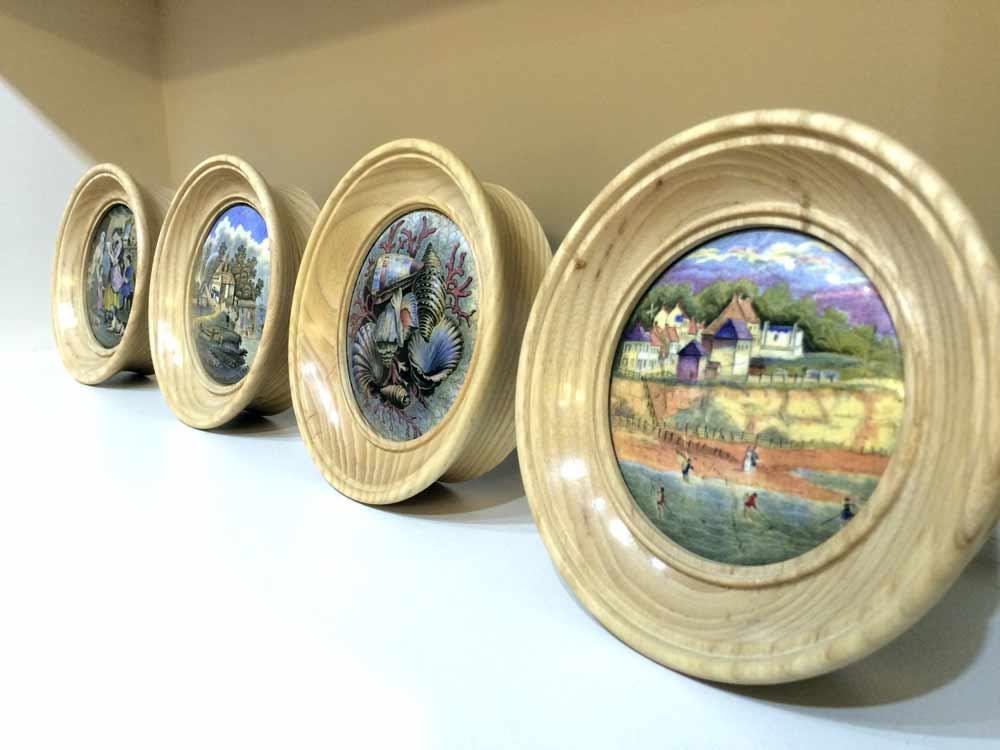Ash-lid-frames