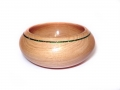 Chestnut-small-bowl-with-green-glitter-band