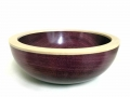 Purple-Heart-bowl-with-Sycamore-rim
