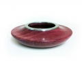Purple-Heart-low-bowl-with-pewter-rim