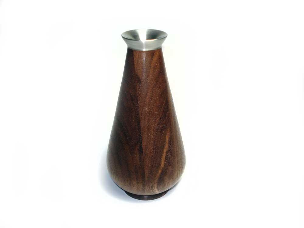 Black-Walnut-Bud-Vase-pewter