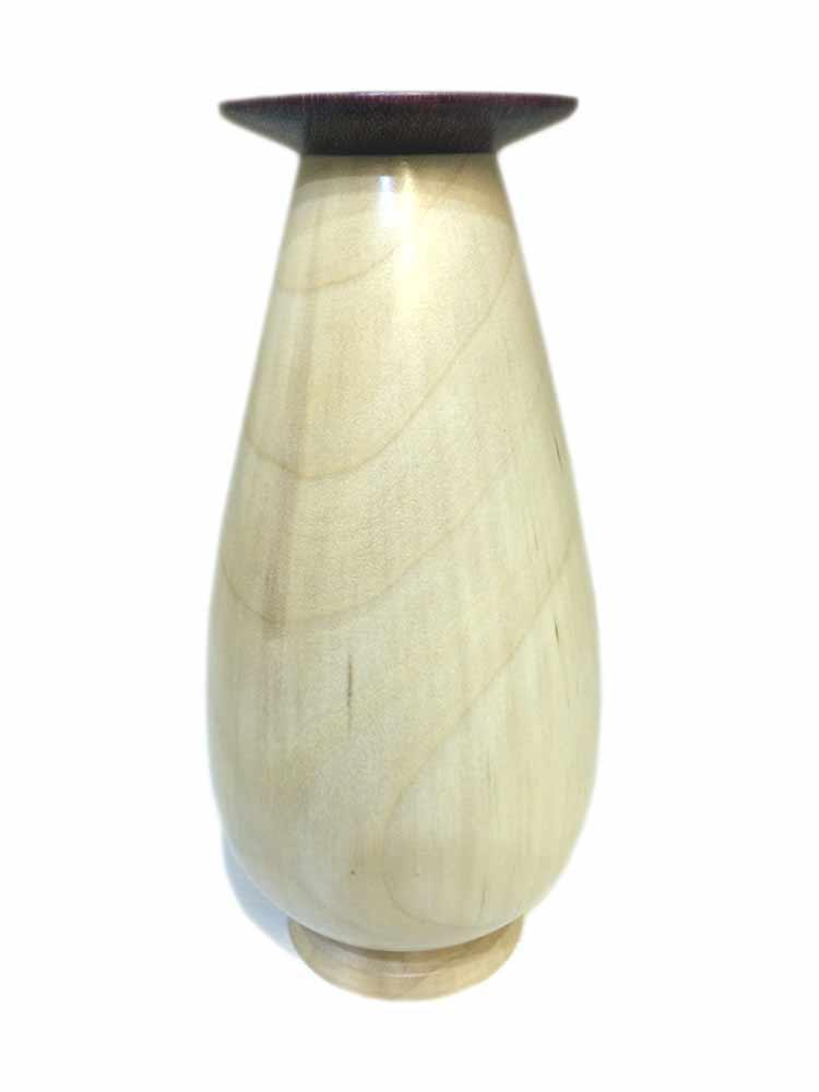 Maple-vase-with-purple-heart-rim