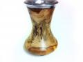 Oak-rustic-vase-with-pewter-rim